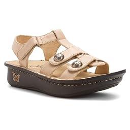 Alegria Women\'s Kleo Gladiator Sandal,Rice Grain,40 BR/10 M US