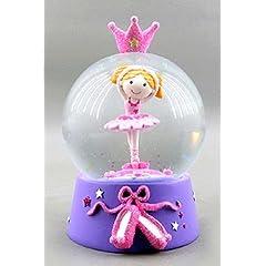 Ballerina Princess Water Globe