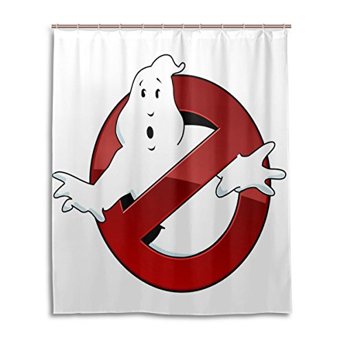 [ablink Halloween Ghost Clip Art Related Unique Custom Printed Waterproof fabric Polyester Shower Curtain 60 x] (Cute Halloween Ghosts Clipart)