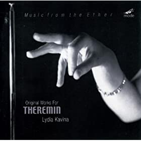 """Original Works For Theremin"": Music By Martinu, Grainger, Schillinger, Kavna, Komarov And Others"