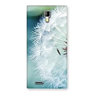 Enticing White Floral Back Case Cover for Micromax Canvas Xpress A99