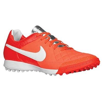 Nike Mens Tiempo Legacy TF - (TOTAL CRIMSON WHITE-MTLLC SLVR) by Nike