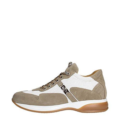 4US CESARE PACIOTTI NNCU5FCA Sneakers Uomo Scamosciato White White 42