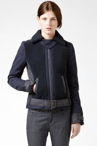 Belted Cotton Gabardine Jacket