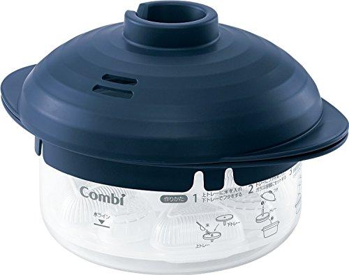 コンビ 耐熱ガラス製離乳食調理器 こむすび鍋 【対象年齢:12カ月頃から】