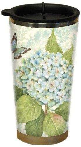 Lang Blue Hydrangea Traveler Mug