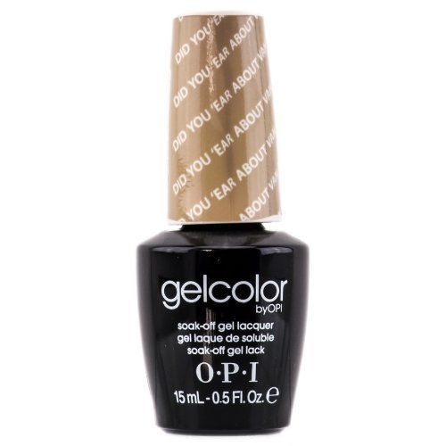 OPI Gelcolor DID You 'ear About Van Gogh