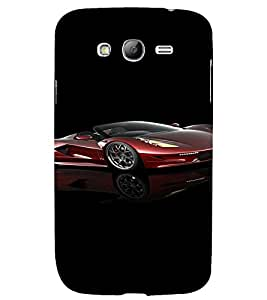 PrintVisa Sports Car Design 3D Hard Polycarbonate Designer Back Case Cover for Samsung Galaxy Grand Neo Plus