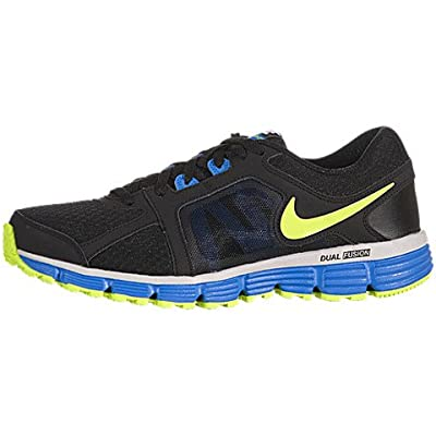 Amazon.com: Nike Youth Dual Fusion ST 2(GS) Running Shoes-Black/Volt