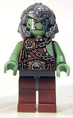 "Troll Warrior 3 ~ Lego Castle 2 "" Minifigure - 1"