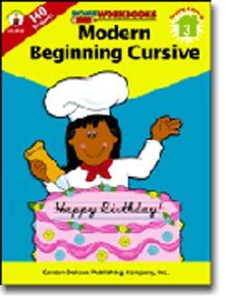 MODERN BEGINNING CURSIVE Grade 3 Workbook by Carson Dellosa - 1