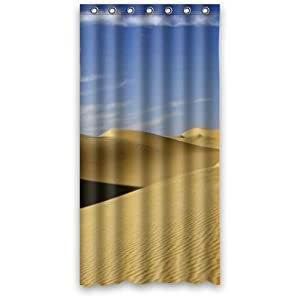 Amazon The Desert Custom Fashion Shower Curtain 36