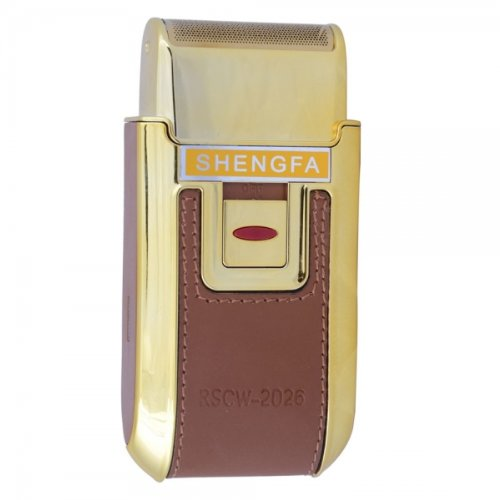 Shengfa Rscw-2026 One Head Rechargeable Shaver Golden By Preciastore