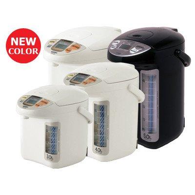 Zojirushi Cd-Lcc50Ba Panorma Window Miciom Electric Dispensing Pot, 5-Liter, Black