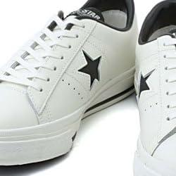 converse(コンバース) ONE STAR OX(ワンスター OX) 1C043 ホワイト/ブラック