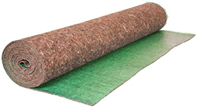 Roberts 70-193 Super Felt Underlayment 360-Feet square Roll for Sound Reducing and Absorbing from QEP Tools