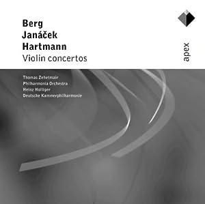 Berg, Janacek & Hartmann : Violin Concertos  -  Apex