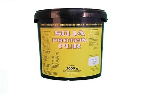 Soja Isolat 100% Soja Protein 2000g vegan glutenfrei