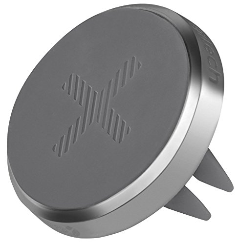 Logitech Trip One-Touch Smartphone Car Mount - Polished Chrome (Certified Refurbished) (Logitech Vent Magnet compare prices)
