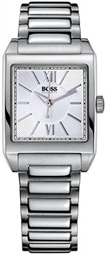 Hugo Boss 1502234 - Reloj analógico de mujer de cuarzo con correa de acero inoxidable plateada