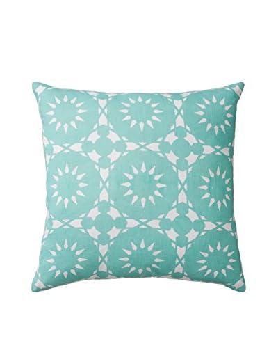 Allem Studio Casablanca Pillow, Seafoam