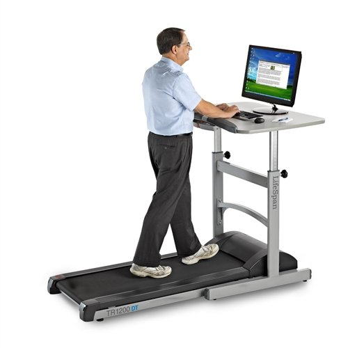Lifespan Premium Treadmill Computer Desk