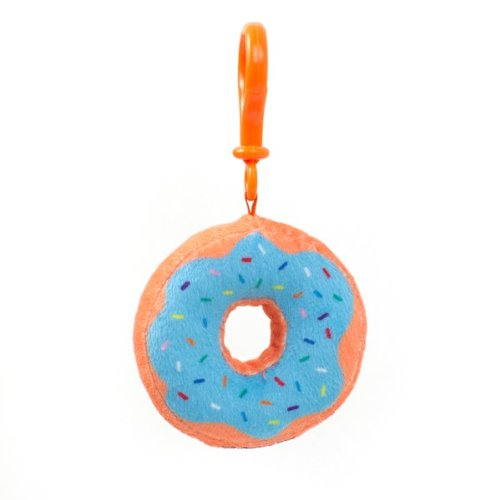 Dylan's Candy Bar Plush Donut Keychain