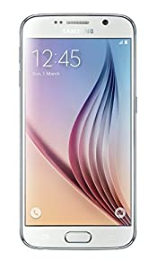Samsung Galaxy S6 32 GB Flat UK Version SIM-Free Smartphone - White