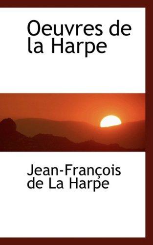 Oeuvres de La Harpe