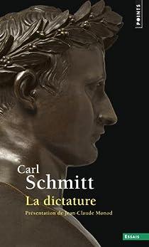 La dictature par Schmitt
