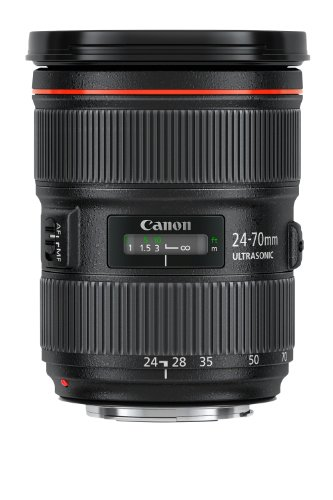 Canon Ef 24-70mm F/2.8l Ii Usm Zoom Lens Lense For Digital Camera Slr...