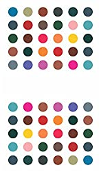 Sunaina Matching Plaza Multicolor Size-3 Round Bindis for Women [SMP609]