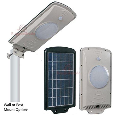 B And M Solar Wall Lights : Save 67%! - 6 Watt -LED Solar Wall Light - Solar Street Light - up to 800 Lumen - All in One ...