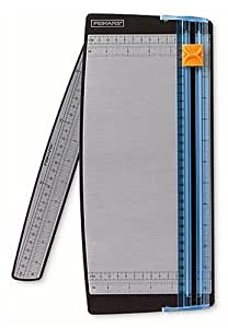Fiskars scrapbooking paper trimmer with swing-out arm, 12 inches