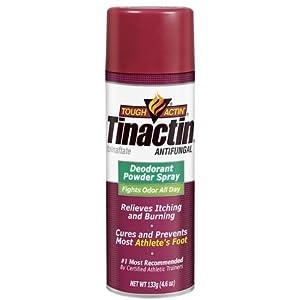 Tinactin Antifungal Deodorant Powder Spray -- 4.6 oz