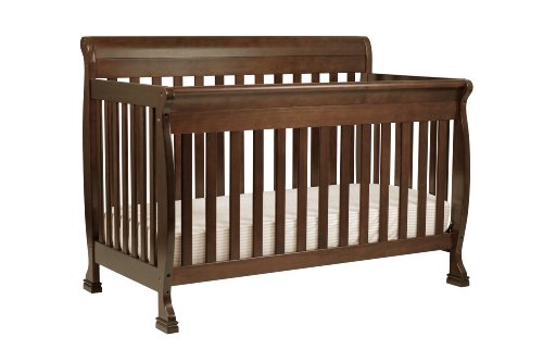 DaVinci Kalani 4-in-1 Convertible Crib with Toddler Rail, Espresso