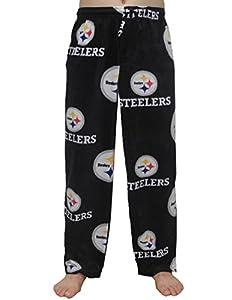 NFL PITTSBURGH STEELERS Mens Polar Fleece Pajama Pants XL Multicolor from NFL
