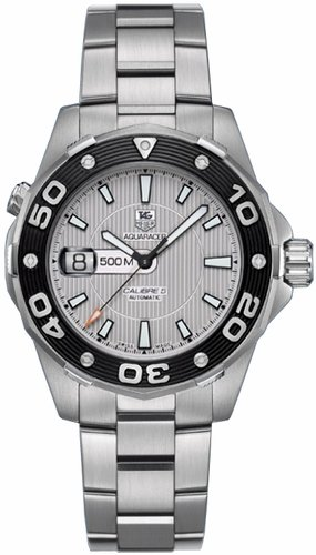 TAG Heuer Men's WAJ2111.BA0870 Aquaracer 500 M Mens Automatic Watch