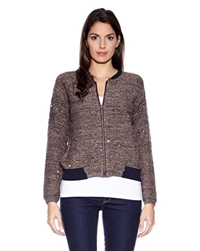 More & More Cardigan [Marrone]