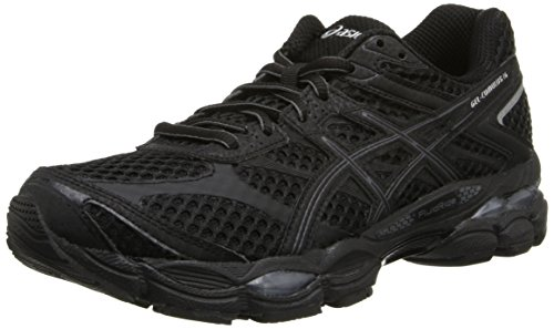 ASICS Women's Gel-Cumulus 16 Running Shoe,Black/Onyx/Silver,9 M US