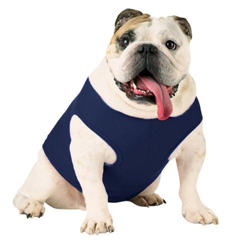 Doggie Skins Baby Rib Tank - Navy - XS