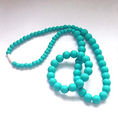 Sassy Baby Beads Mommy and Baby Silicone Chew Teething Beads Necklace Set by Sassy Baby Beads