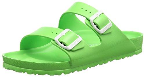 BirkenstockArizona EVA - Ciabatte Unisex - Adulto , Verde (Grün (Neon Green)), 43