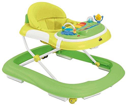 CAM Il mondo del bambino V253 Giocando, Girello, Verde