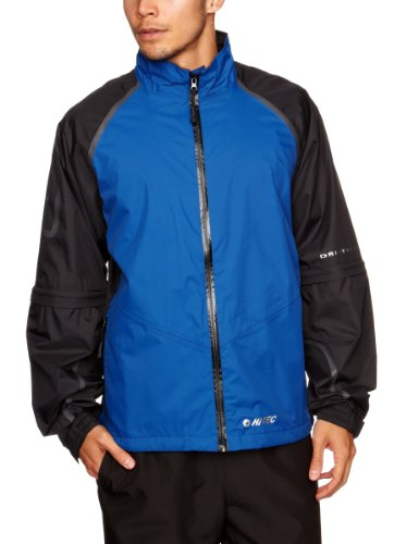 Hi- Tec Sports Mens GR500 Full Zip Jacket - Black/Royal, Large