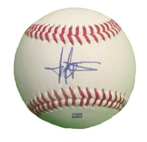 Harold Baines Autographed Signed ROLB Baseball, Chicago White Sox, Baltimore Orioles,...