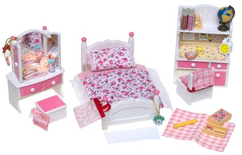 Calico Critters Girl s Bedroom Set & Accessories