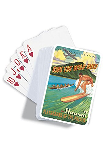 Hawaii Playground of the Pacific Playing Cards