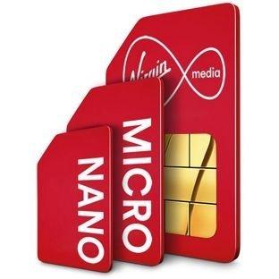 Virgin Mobile Canada Multi SIM Card (Virgin Mobile Nano Sim Card compare prices)