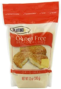 Glutino Gluten Free Breadcrumbs, 12 Ounce Bags (Pack of 4)